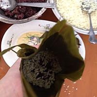 闹端午!碱水红豆粽(新手四角包法)的做法图解19