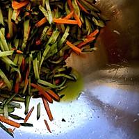 爽口酸辣黄瓜金针菇|家中常备下酒菜的做法图解7