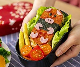 午餐肉饭团|便当新宠的做法