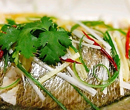 清蒸大黄花鱼的做法