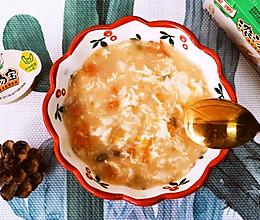 番茄鸡蛋疙瘩汤,浓汤宝版,鲜香美味,早餐必备!的做法