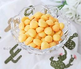 12M+无油蛋黄小饼干:宝宝辅食营养食谱菜谱的做法