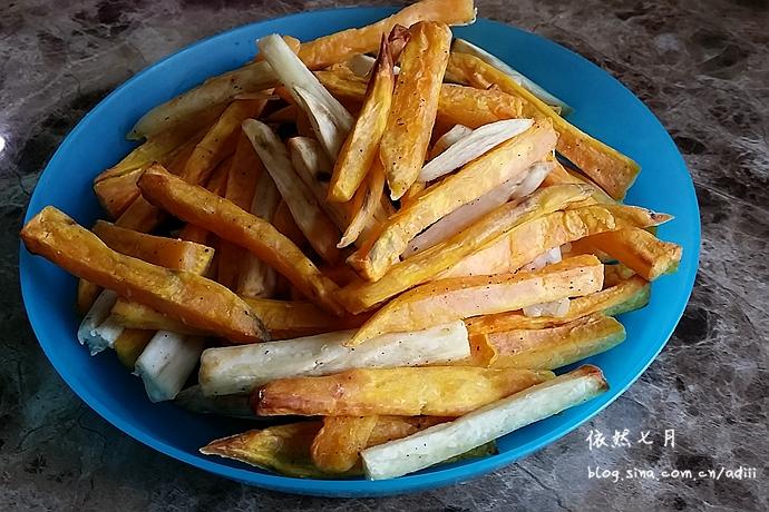 家庭健康红薯条#九阳烘焙剧场#