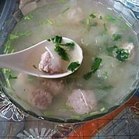 冬瓜丸子汤的做法图解9