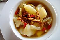 虫草花响螺片炖花胶汤的做法