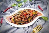 黄瓜爆炒猪肝的做法