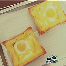 鸡蛋芝士烤土司
