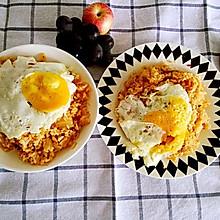 韩式泡菜五花肉炒饭