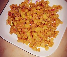 焦糖玉米片~宝宝零食的做法