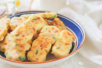 玉米山药饼【宝宝辅食】