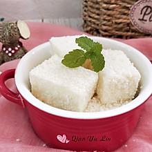 椰蓉牛奶豆腐#甜品#