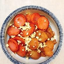 下酒小菜:煎肠肠