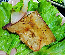 电饼铛烤五花肉(韩国烤肉的感觉)的做法
