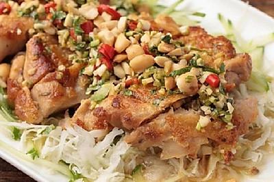 【泰国椒麻鸡】这鸡腿名字乱叫,味道却很正经!