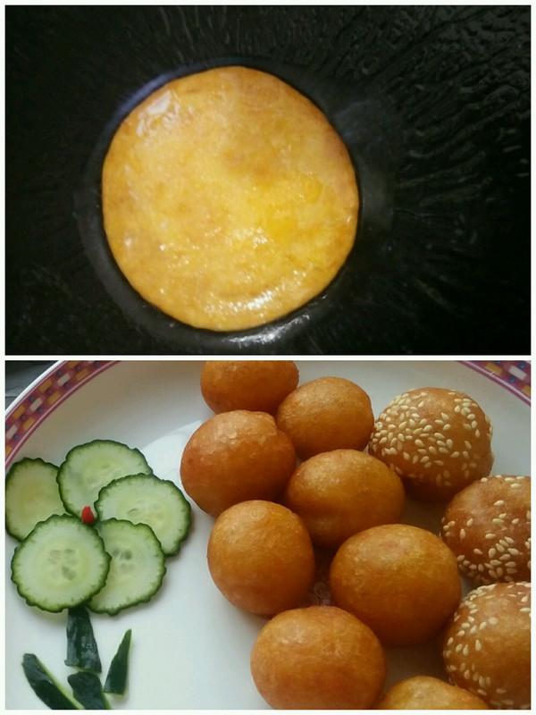 南瓜饼(南瓜球)的做法