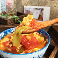 番茄丝瓜蛋汤的做法图解11