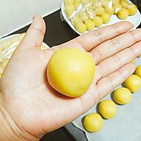 仿香港美心流心奶黄月饼#法国乐禧瑞,百年调味之巅#的做法图解34