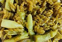 猪肉豆角焖饭的做法