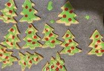 圣诞树糖霜曲奇饼干的做法