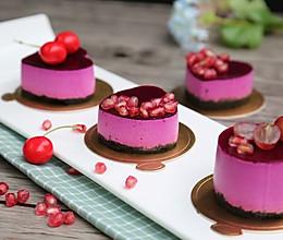 宝宝爱吃的免烤蛋糕——火龙果慕斯的做法