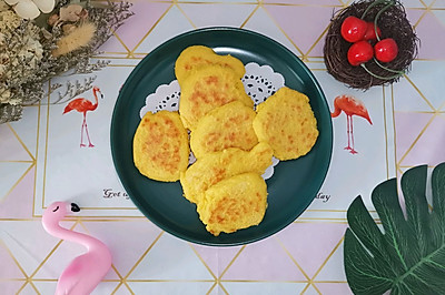 减脂玉米饼(低卡主食)