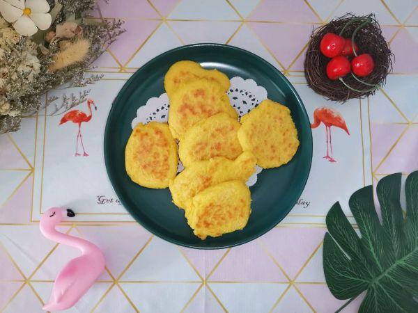减脂玉米饼(低卡主食)的做法
