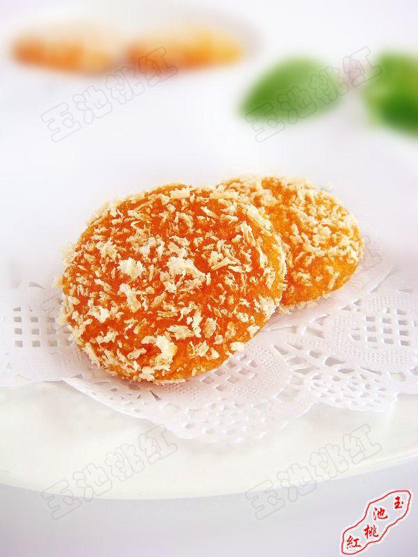 脆皮南瓜饼的做法