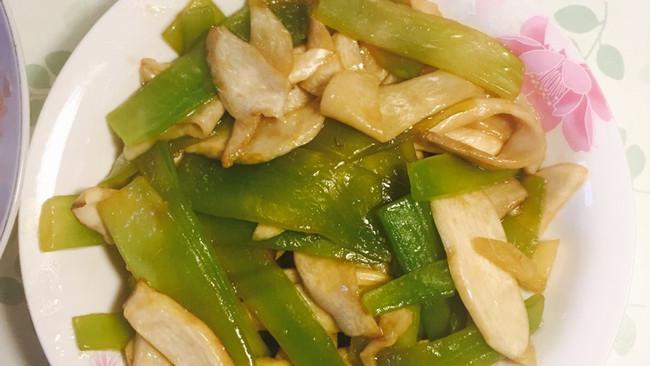 蚝油杏鲍菇青笋的做法