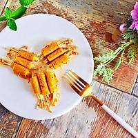 #一人一道拿手菜#烤金针菇卷的做法图解13