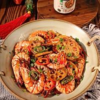 万事红火干锅虾的做法图解11