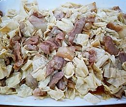 腐竹蒸猪肉的做法