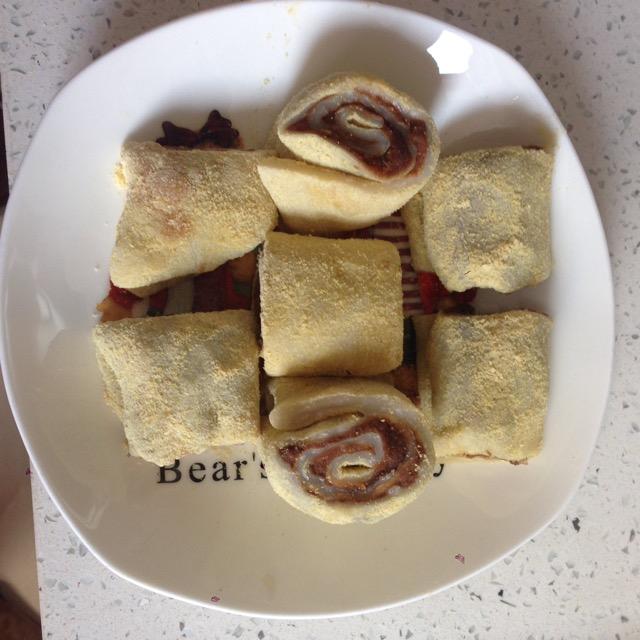 黄豆粉_豆面卷怎么做_豆面卷的做法_豆果美食