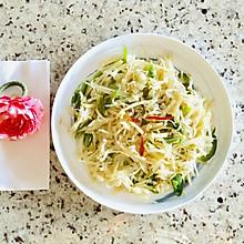 清炒土豆丝#做道好菜,自我宠爱!#