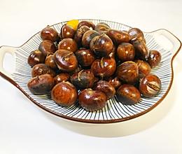 秋之味|黄澄澄烤板栗的做法