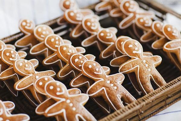 一学就会做的冬日好姜饼!的做法
