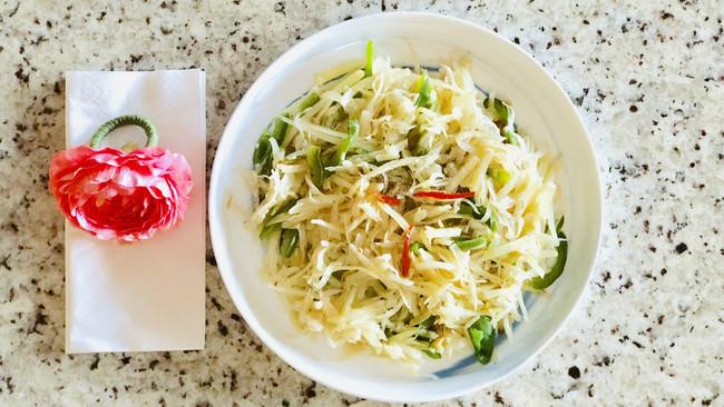 清炒土豆丝#做道好菜,自我宠爱!#的做法