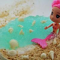 夏日最旺的人气沙滩---海洋慕斯蛋糕的做法图解16