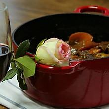 勃艮第红酒炖牛肉
