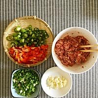 肉酿茄子#我要上首页挑战家常菜#的做法图解1