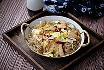 五花肉炖粉条白菜#秋天怎么吃#的做法