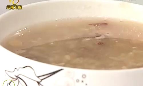白芍桃仁粥的做法
