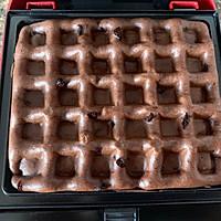 巧克力華夫餅的做法圖解8