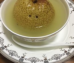 花椒煮鸭梨的做法