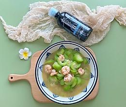 #巨下饭的家常菜#夏日能量站~丝瓜焖虾仁的做法