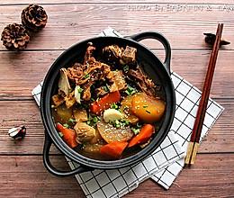 萝卜羊排锅#竹木火锅,文艺腹兴#的做法