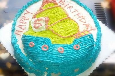 海盗船蛋糕(12寸)