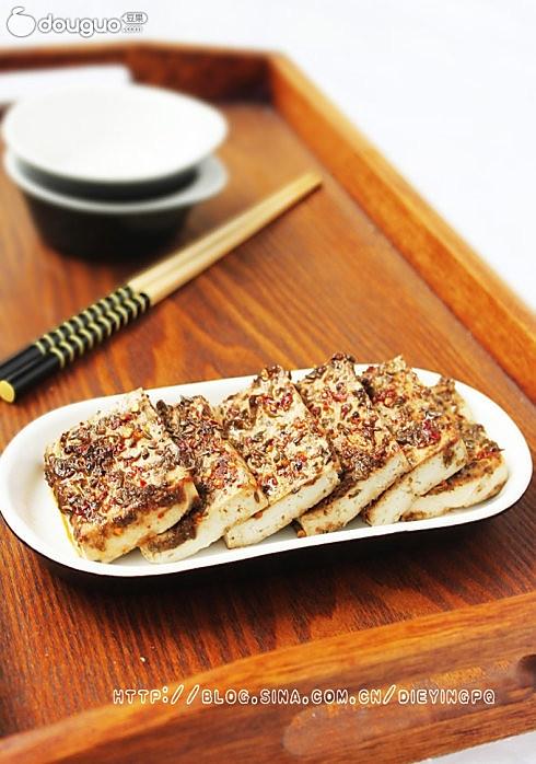 微波烤豆腐的做法