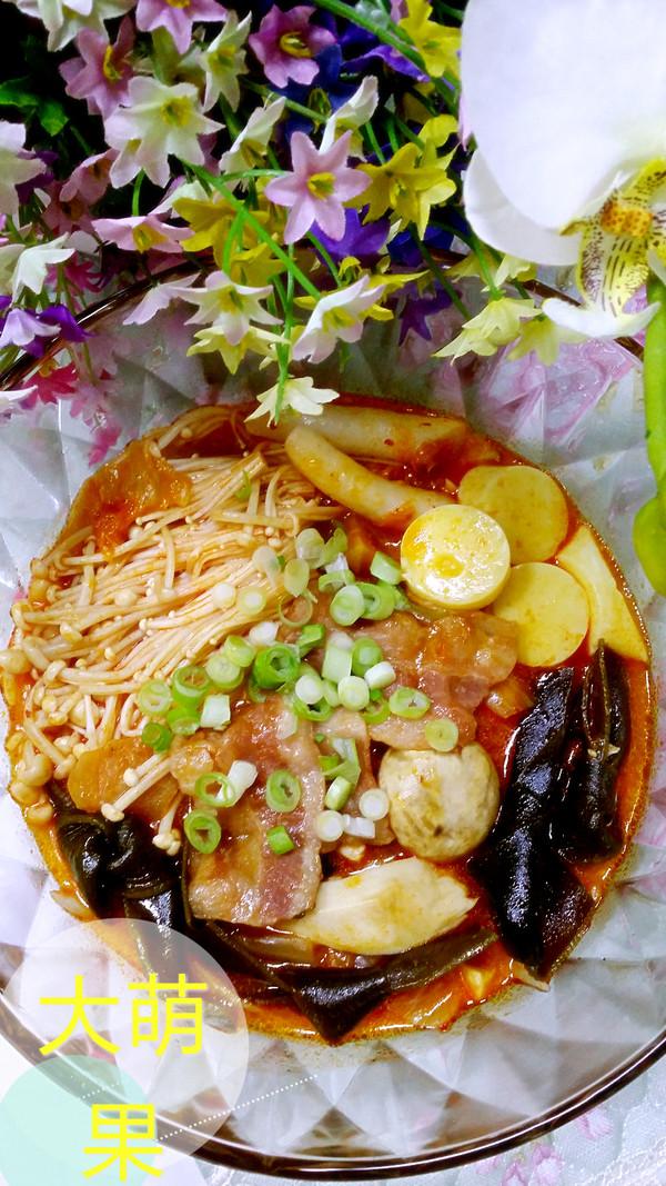 冬日里暖暖~泡菜汤的做法