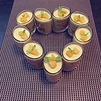 抹茶酸奶布丁的做法图解9