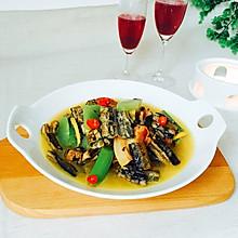 #父亲节,给老爸做道菜#腊肉炖鳝鱼